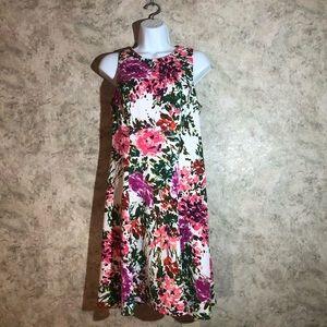 Liz Claiborne Sleeveless Floral Dress